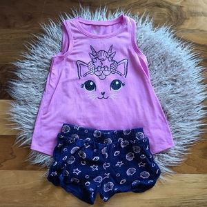 Girls Justice Seashell Outfit